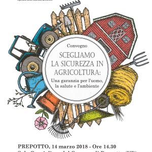 CONVEGNO: Scegliamo la sicurezza in agricoltura
