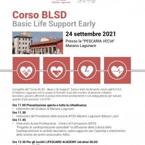 Corso BLSD – Basic Life Support Early